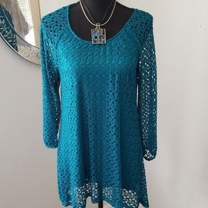 New Crocheted Lined Tunic 6/8/10